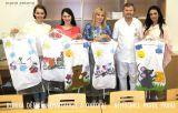 zleva - Gabriela Kratochvílová, Martina Hrnčířová,Marie Zelená, MUDr. Vladimír Komrska, CSc, Alice Tobiášová,